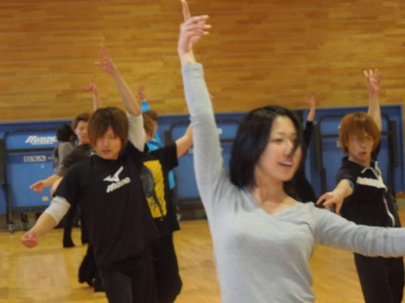 今度は踊りこみ!