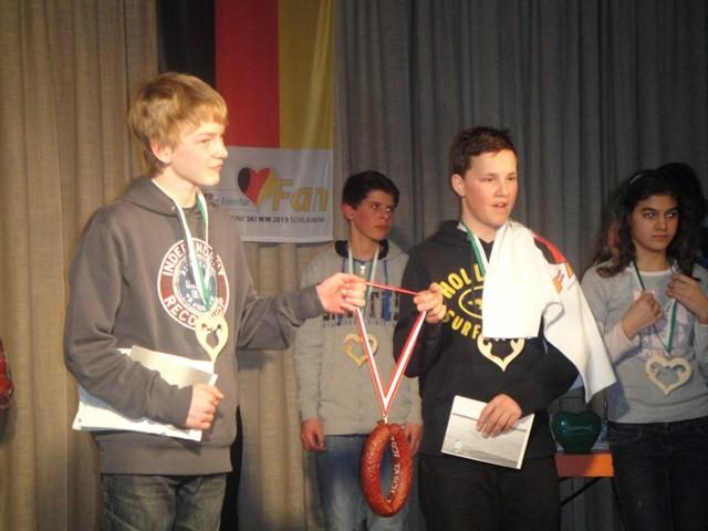 Die Gewinner:  Roman Mayer und Simon Mayr