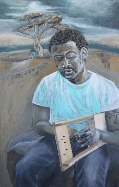 Joseph, Oel auf Leinwand, 70 x 110 cm