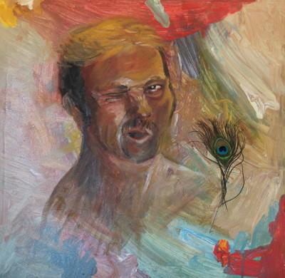 Prince Charming, 2015, Öl auf Leinwand, 60 x 60 cm