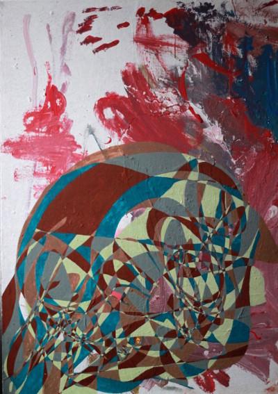 Acryl auf Leinwand; 50 cm x 70 cm