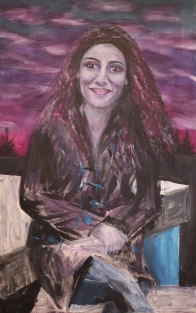 Berola, 2015, Öl auf Leinwand, 110 cm x 70 cm