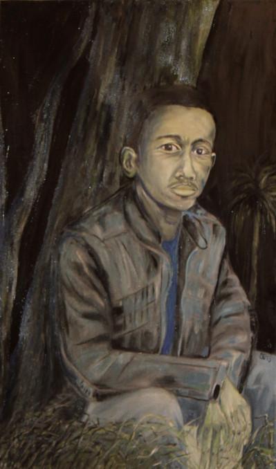 Kamal, Öl auf Leinwand, 70 cm x 110 cm