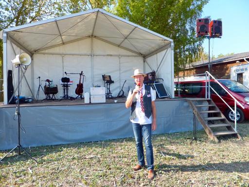 Eventmoderator Bernd Winkler Kerkow, Schönermark, Frauenhagen, DJ Uckermark, DJ Angermünde, Dorffest DJ