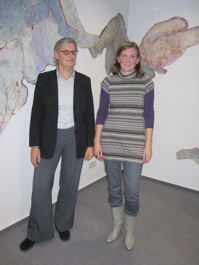 Christiane Gruber (links), Marion Bertram (re)