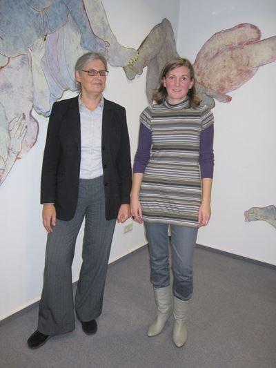 Christiane Gruber (links), Marion Bertram (re)