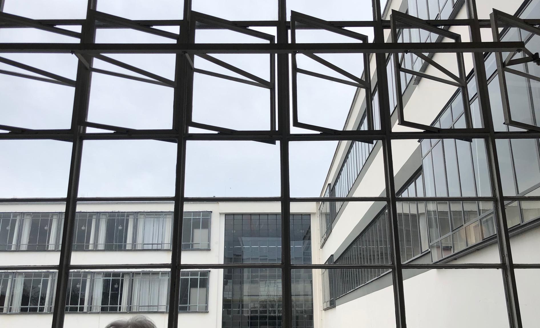 Fensterkonstruktion Hochschule Dessau