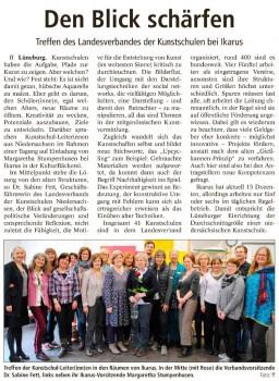 Landeszeitung Lüneburg vom 19.04.2016