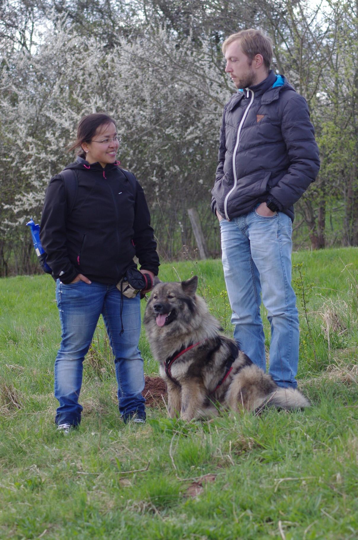 Susi, Michael mit Bashuna