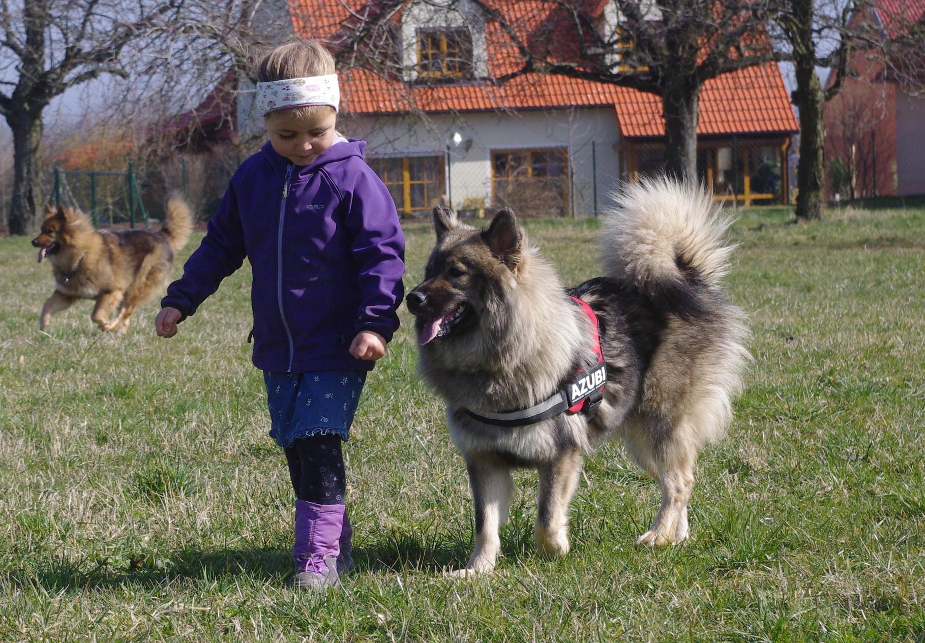 Zoe übt fleißig mit ShunaBana