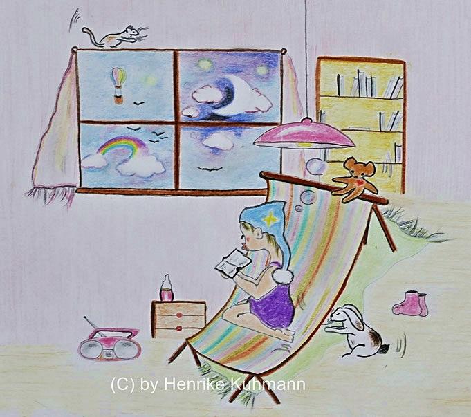 Zeichnung für Kinderbuch