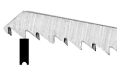 Neutechnik extra lange Stichs/ägebl/ätter f/ür Kurven feiner Schnitt 4 St/ück Aufnahme Black+Decker