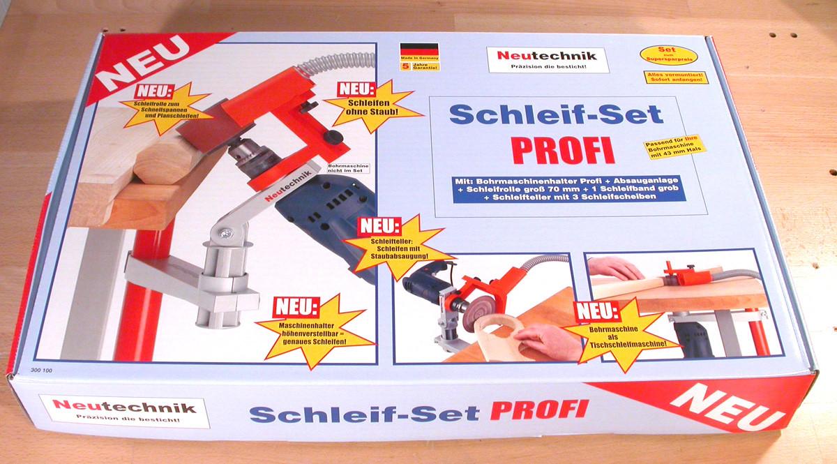 a61 schleif set profi f r die bohrmaschine neutechnik werkzeug shop 100 made in germany. Black Bedroom Furniture Sets. Home Design Ideas