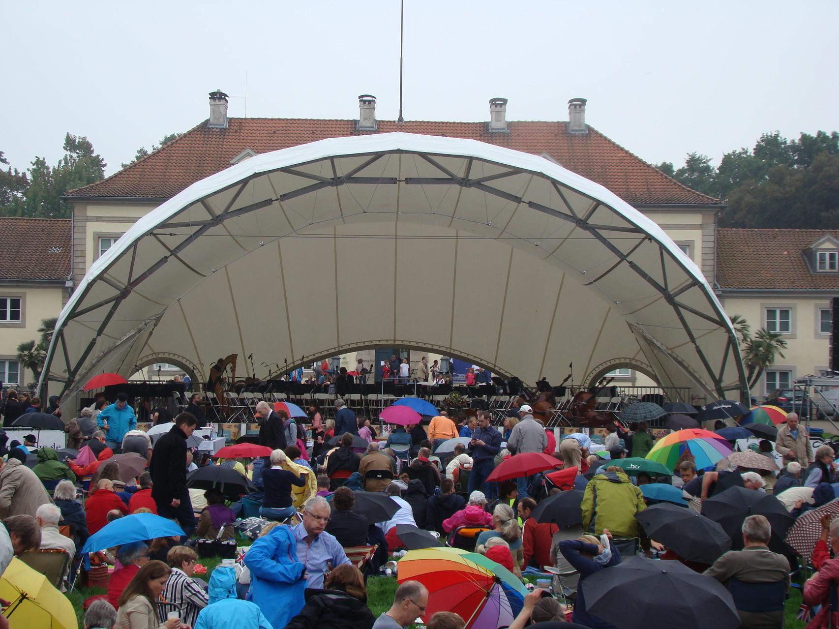 Orchester Open Air, Klassik Open Air, Georgengarten Hannover, Konzertmuschel