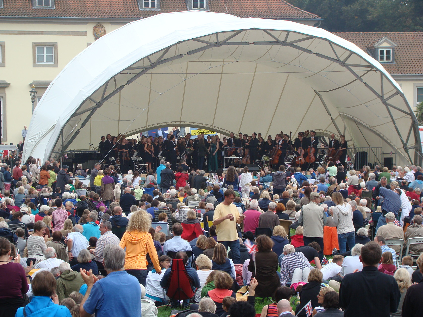 Orchester Open Air, Klassik Open Air, Georgengarten Hannover, Wilhelm Busch Museum