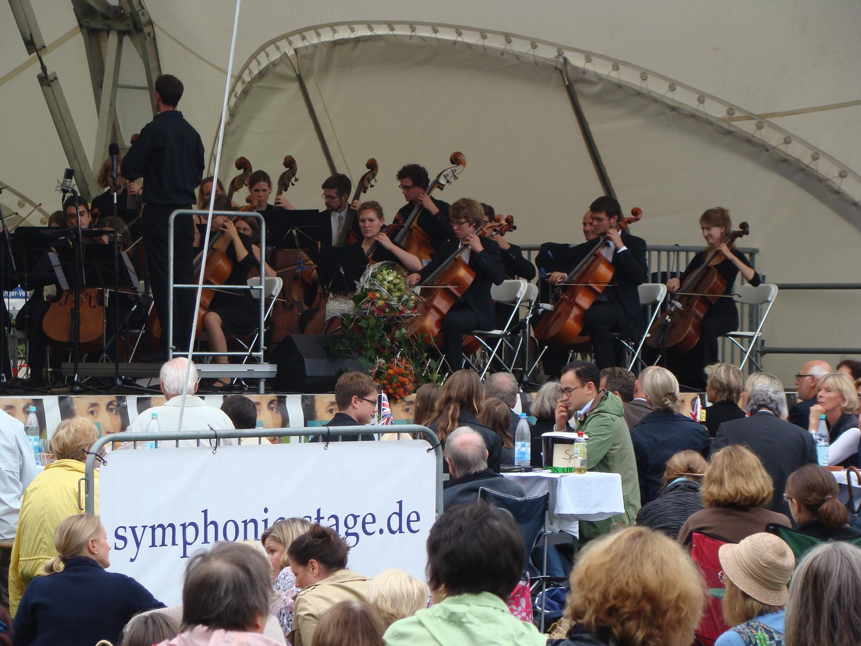 Orchester Open Air, Klassik Open Air, Open Air Bühne mieten