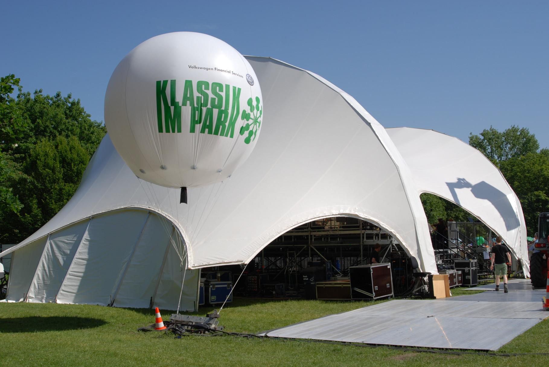 Orchester Open Air, Open Air Bühne mieten, Klassik im Park Braunschweig, Konzertmuschel