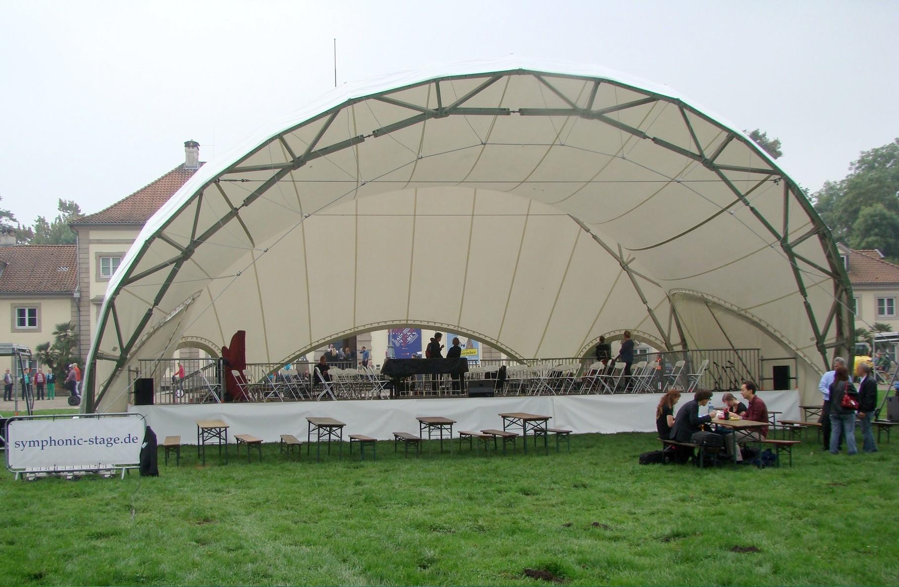 Bühne mieten, Open Air Bühne mieten, Georgengarten Hannover, Wilhelm Busch Museum