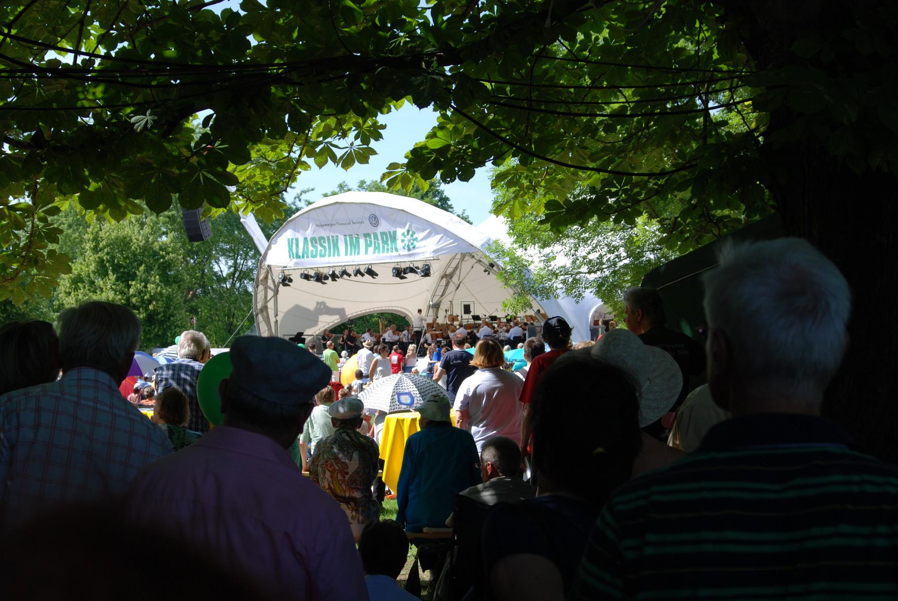 Orchester Open Air, Klassik Open Air, Klassik im Park Braunschweig, Konzertmuschel