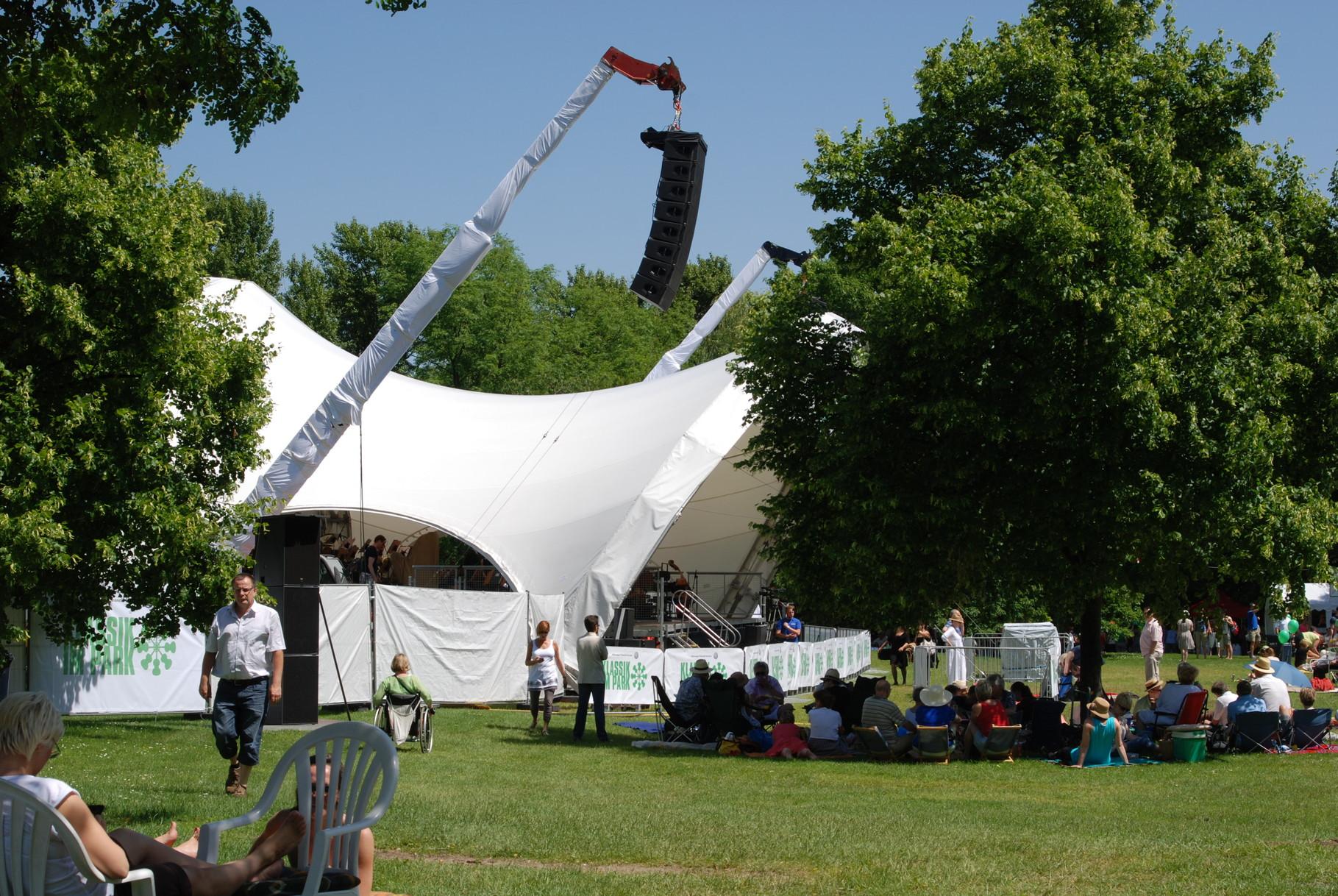 Klassik Open Air, Open Air Bühne, Klassik im Park Braunschweig, Konzertmuschel
