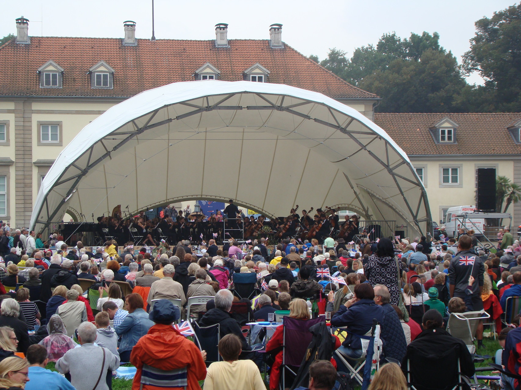 Orchester Open Air, Open Air Bühne, Klassik Open Air, Georgengarten Hannover, Wilhelm Busch Museum