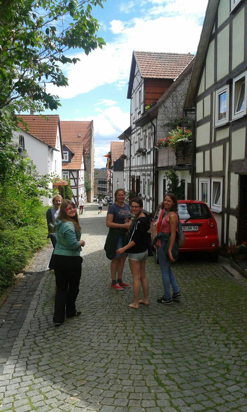 Spaziergang in Korbach