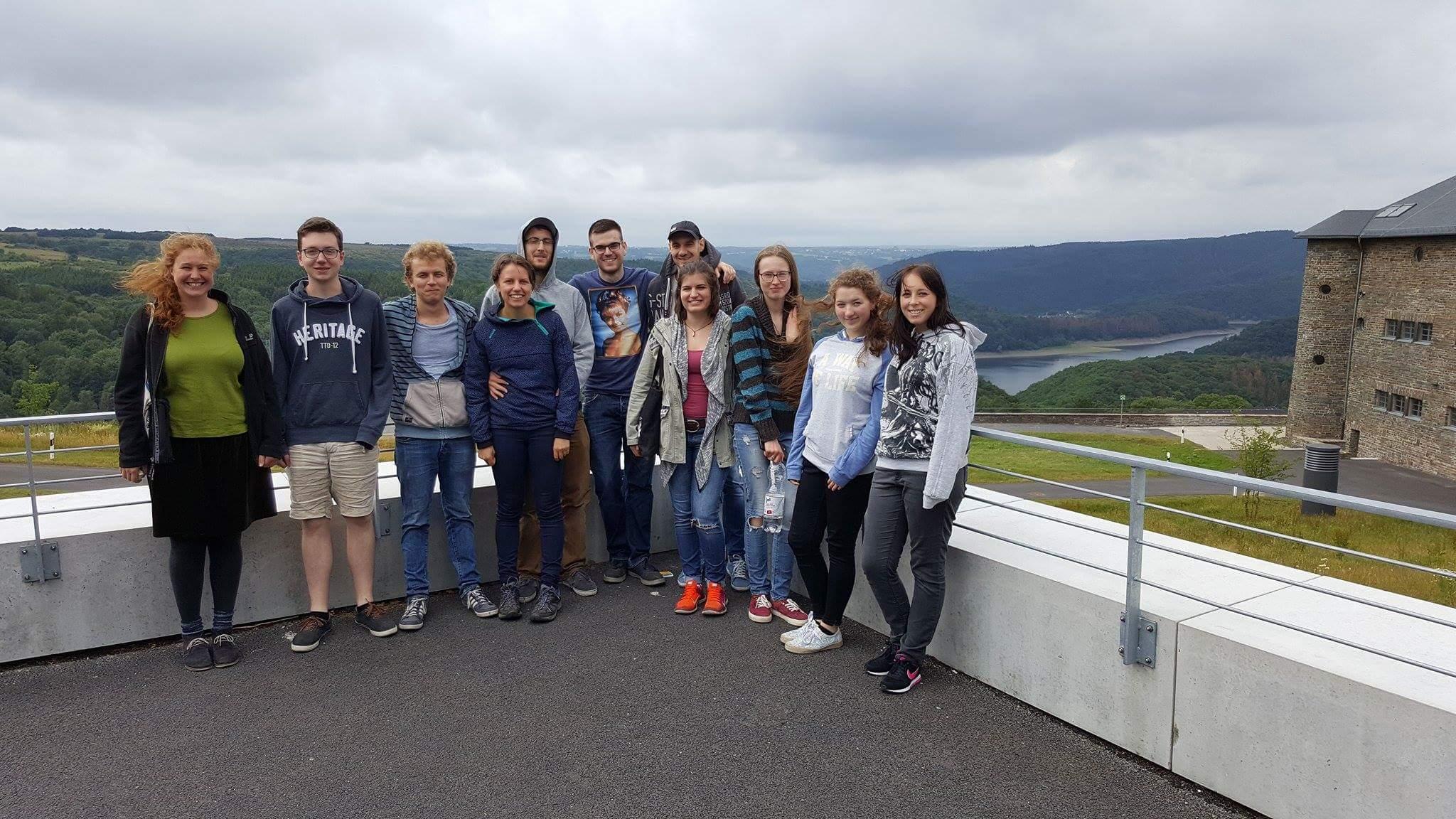Auf der Burg Vogelsang