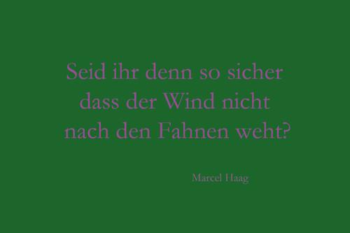 Deutsche Poesie - Seid ihr denn so sicher - Marcel Haag