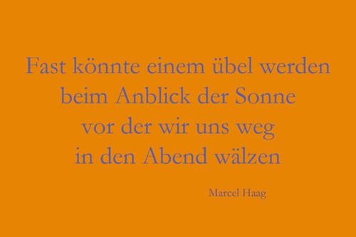 Deutsche Poesie - Das Übel Wahrheit - Marcel Haag