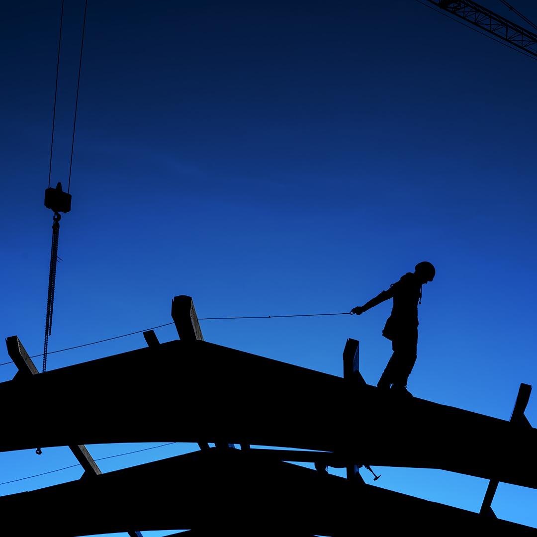 Dacharbeiter