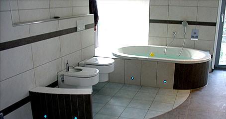 Fliesenarbeit Badezimmer