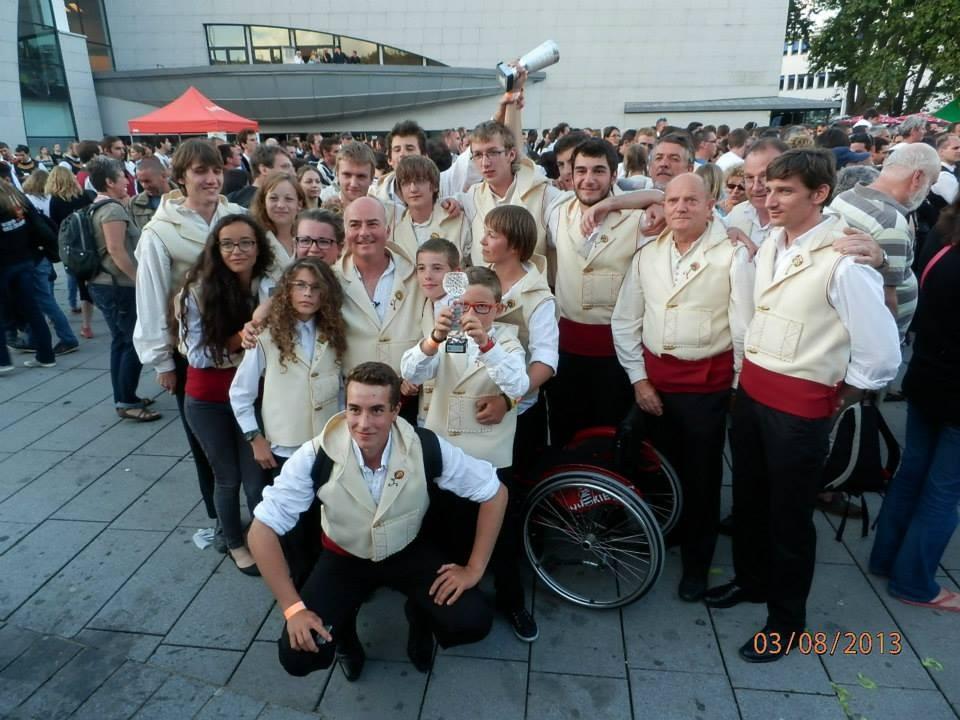 Le Bagad Pagan - 2ème du concours 4ème Catégorie - Lorient en 2013