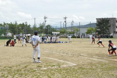 長町フェニックススポーツ少年団さんとの試合2