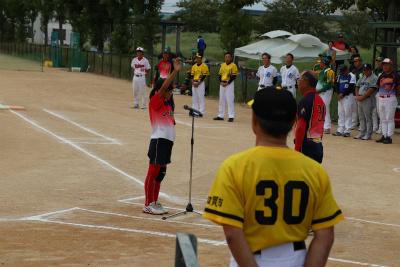 第39回北國新聞社杯争奪石川県ジュニアソフトボール大会選手宣誓