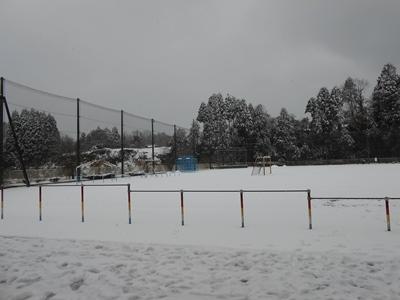 2020/12/20は雪が降りました