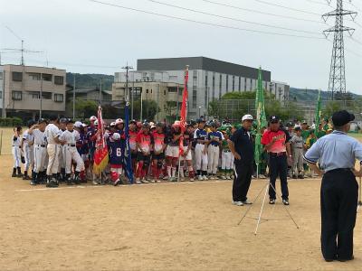 第6回白寿園旗争奪県ジュニアソフトボール大会