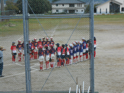 3チーム合同の試合開始