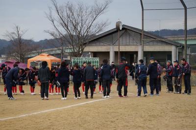 第11期生・卒団式_親子試合2