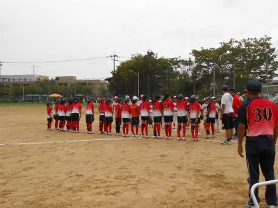 内川少年ソフトボールさんと練習試合