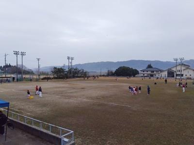 2021/03/28練習試合のアップ時の様子