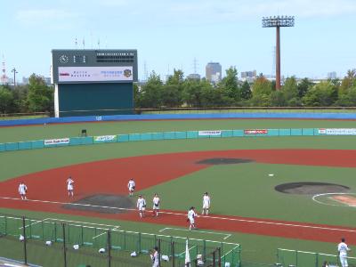 第54回日本女子ソフトボールリーグ1部・第6節の試合が金沢で開催されました♪