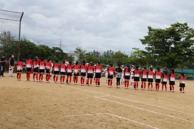 200705練習試合開始前
