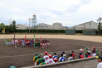 第32回北信越小学生ソフトボール大会・県予選開会式