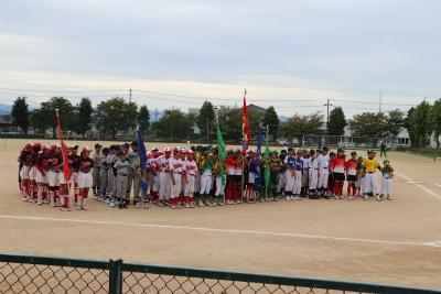 第39回北國新聞社杯争奪石川県ジュニアソフトボール大会開会式