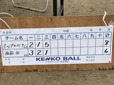 第11回安藤杯。最初の予選リーグ戦勝利しました。