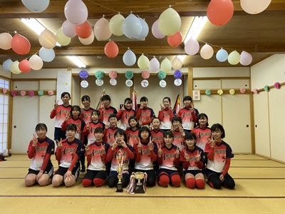 2021/03/21卒団式_飾りつけもリニューアル