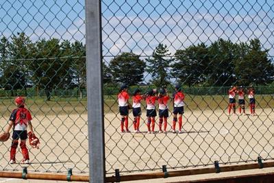 2020/09/21練習試合_6年生チームの試合の様子
