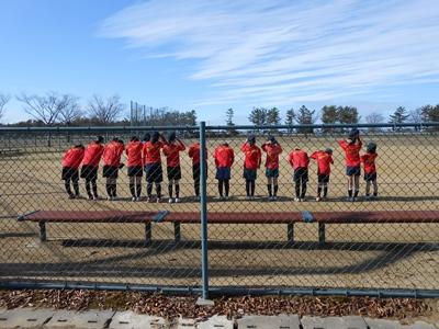2020/11/29の北部公園グラウンド練習終了
