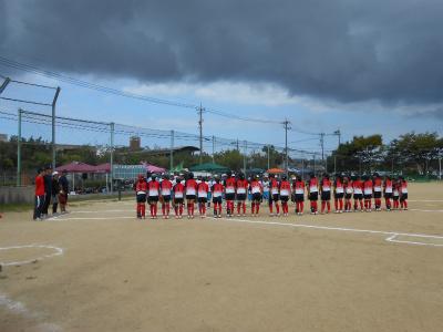 鵜坂スポーツ少年団さんとの試合1