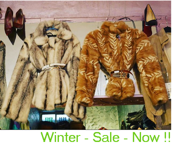 Secondhand Vintageshop Entlarvt Köln Winter-Sale